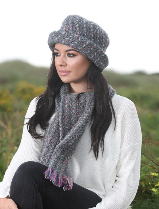 Wool Country Scarf - Connemara Loden