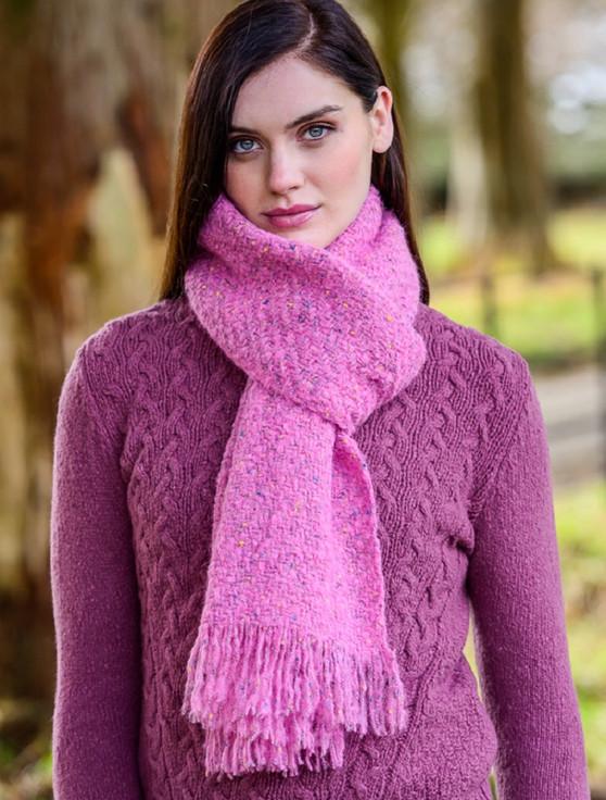 Mucros Kells Scarf - Pink