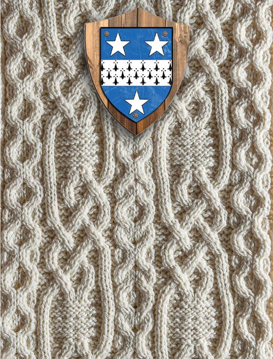 Crawford Clan Aran Throw