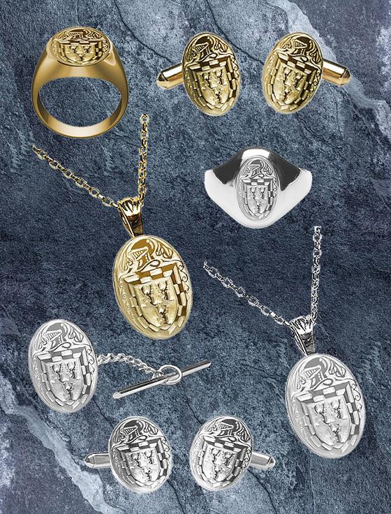 Doyle Heraldic Gold & Silver