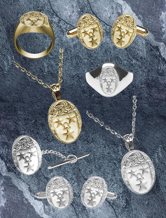 Murray Clan Heraldic Jewelry