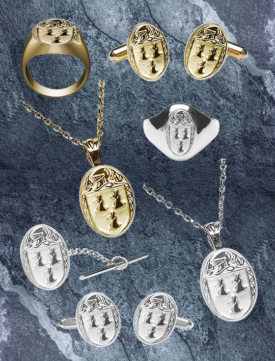 Ryan Heraldic Gold & Silver