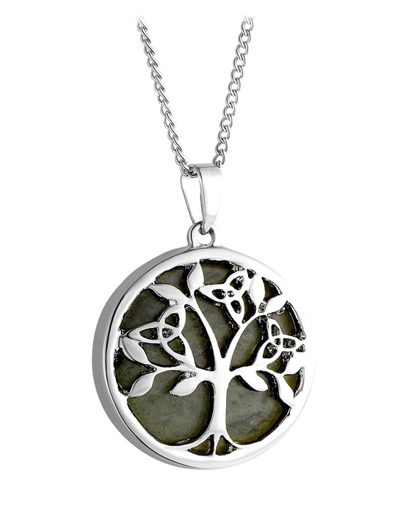 Connemara Marble Tree Of Life Pendant
