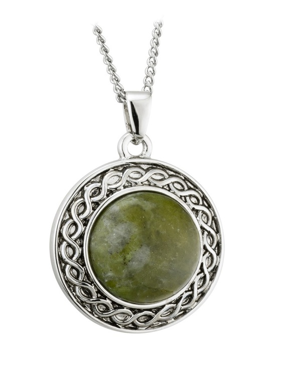 Connemara Marble Shield Pendant