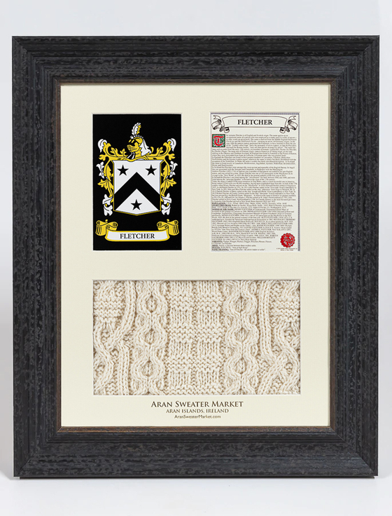 Fletcher Clan Aran & History Display