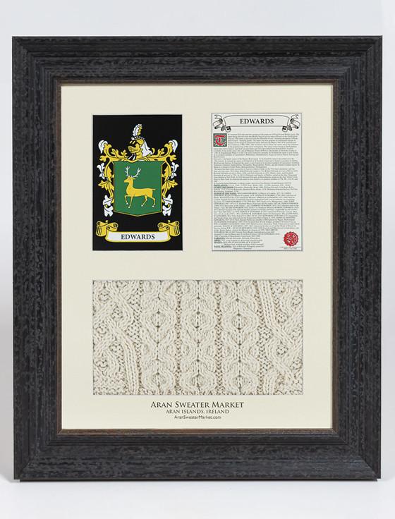 Edwards Clan Aran & History Display