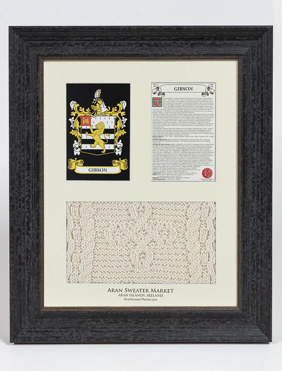 Gibson Clan Aran & History Display