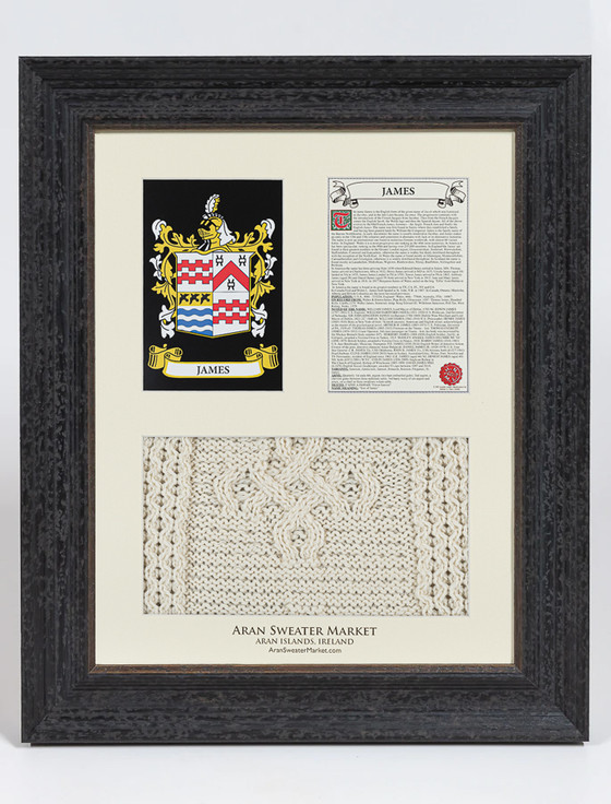 James  Clan Aran & History Display