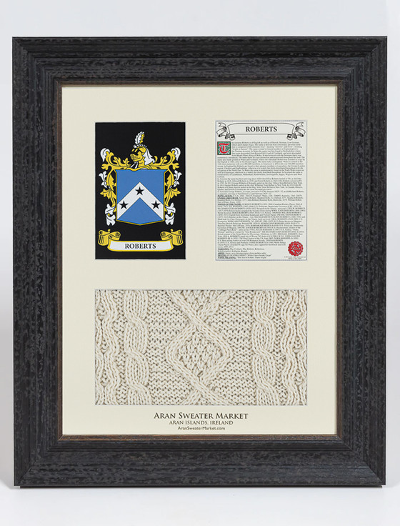 Roberts Clan Aran & History Display