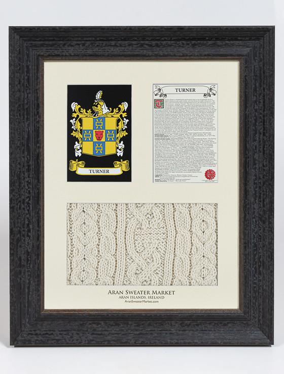 Turner Clan Aran & History Display
