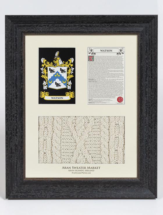 Watson Clan Aran & History Display