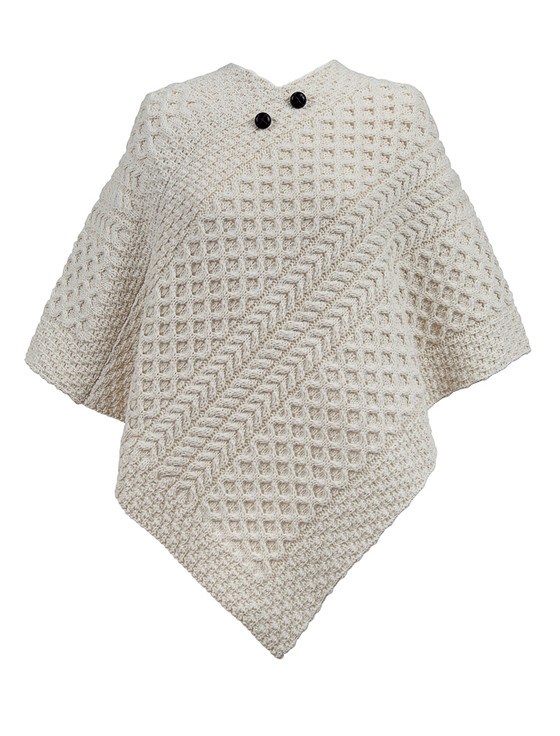 Mc Loughlin Clan Aran Poncho