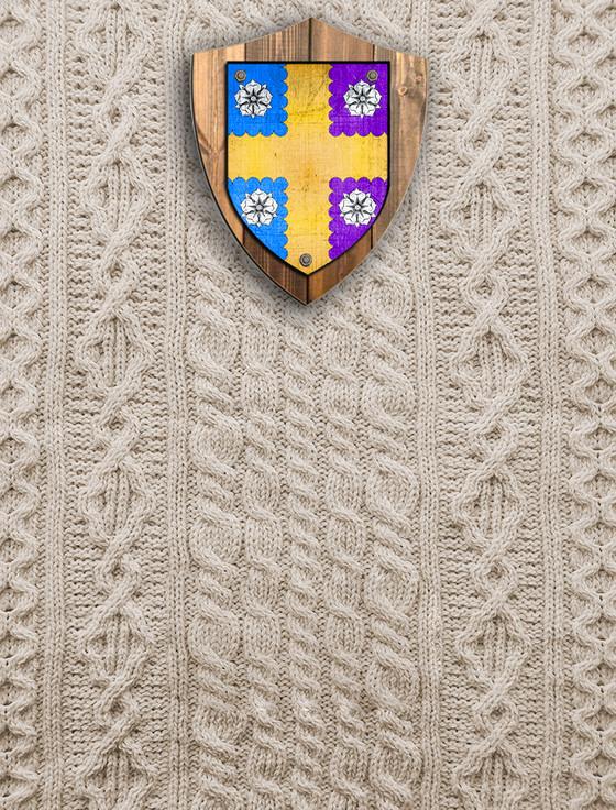 Burton Clan Aran Throw