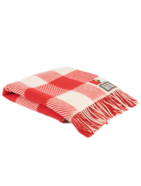Pure Merino Wool County Throw - Cork