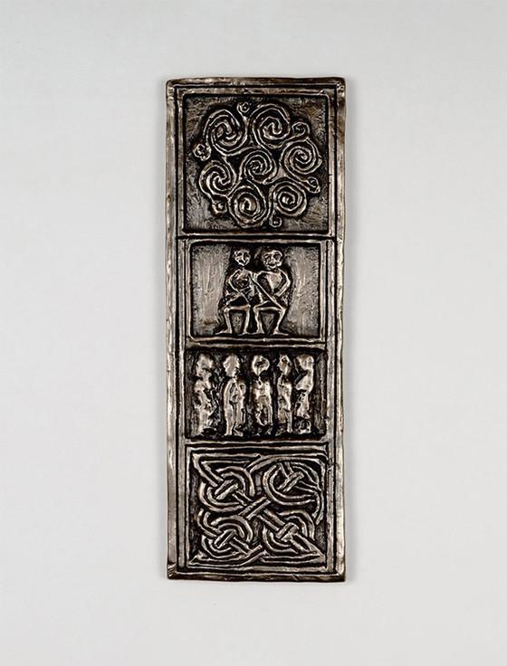 Irish Bronze Celtic Cross Of Commitment