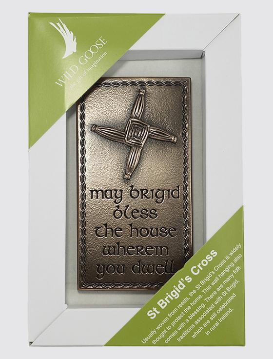 Irish Bronze St Brigid's Cross