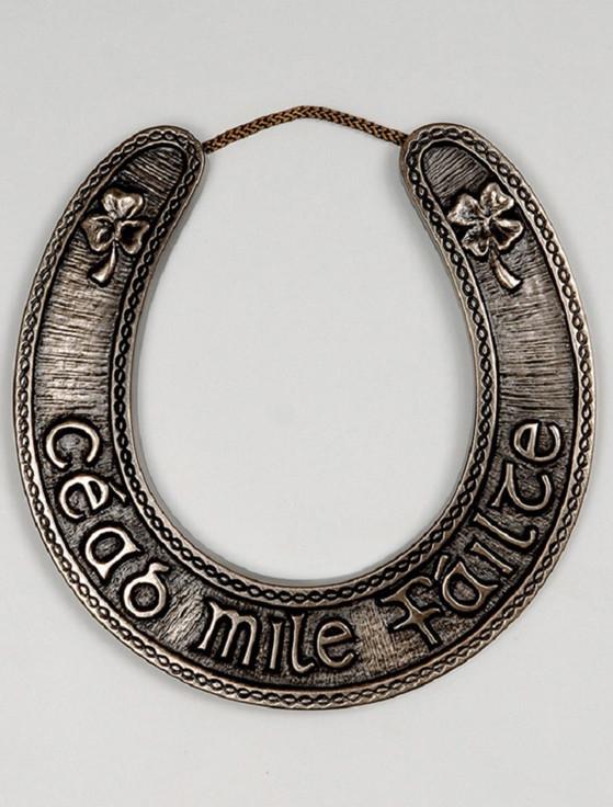 Irish Bronze Lucky Horseshoe
