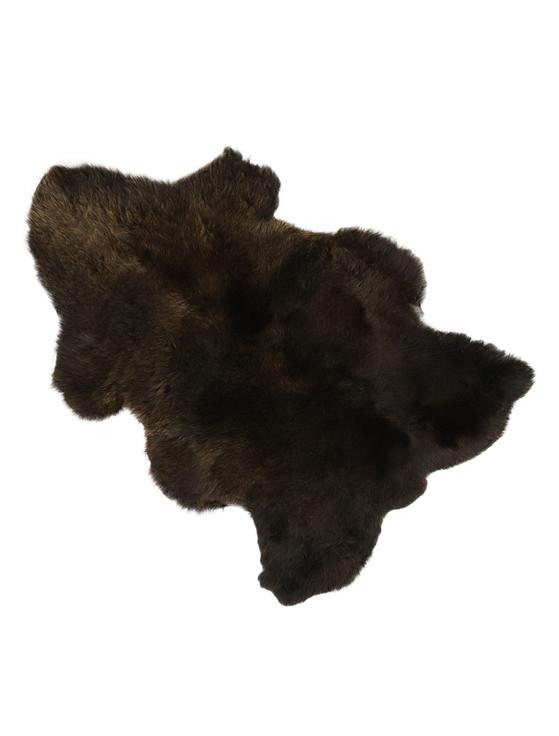 Deep Pile Sheepskin Rug - Brown