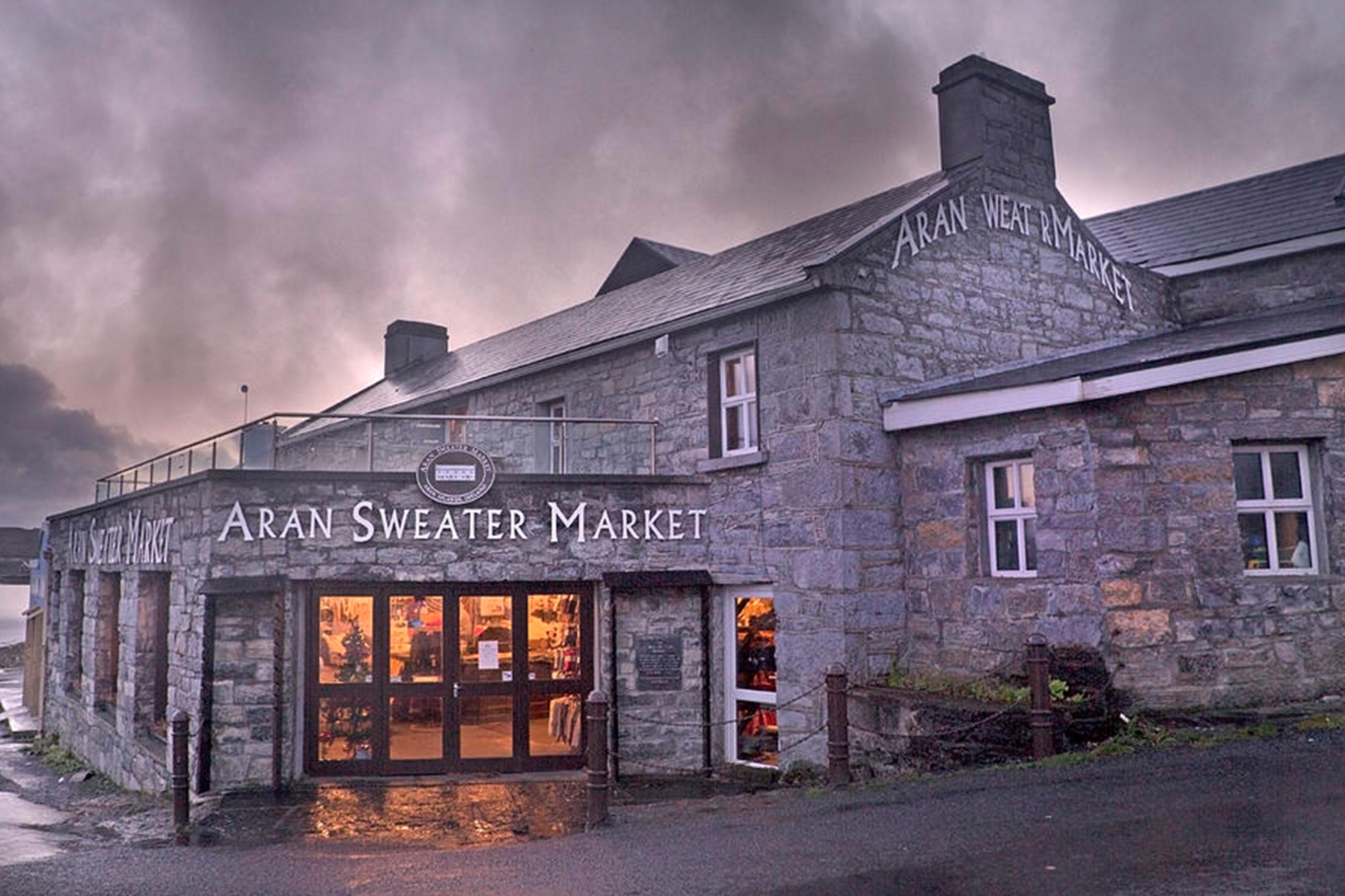 Aran Sweater Market, Kilronan on Inis Mor, Aran Islands