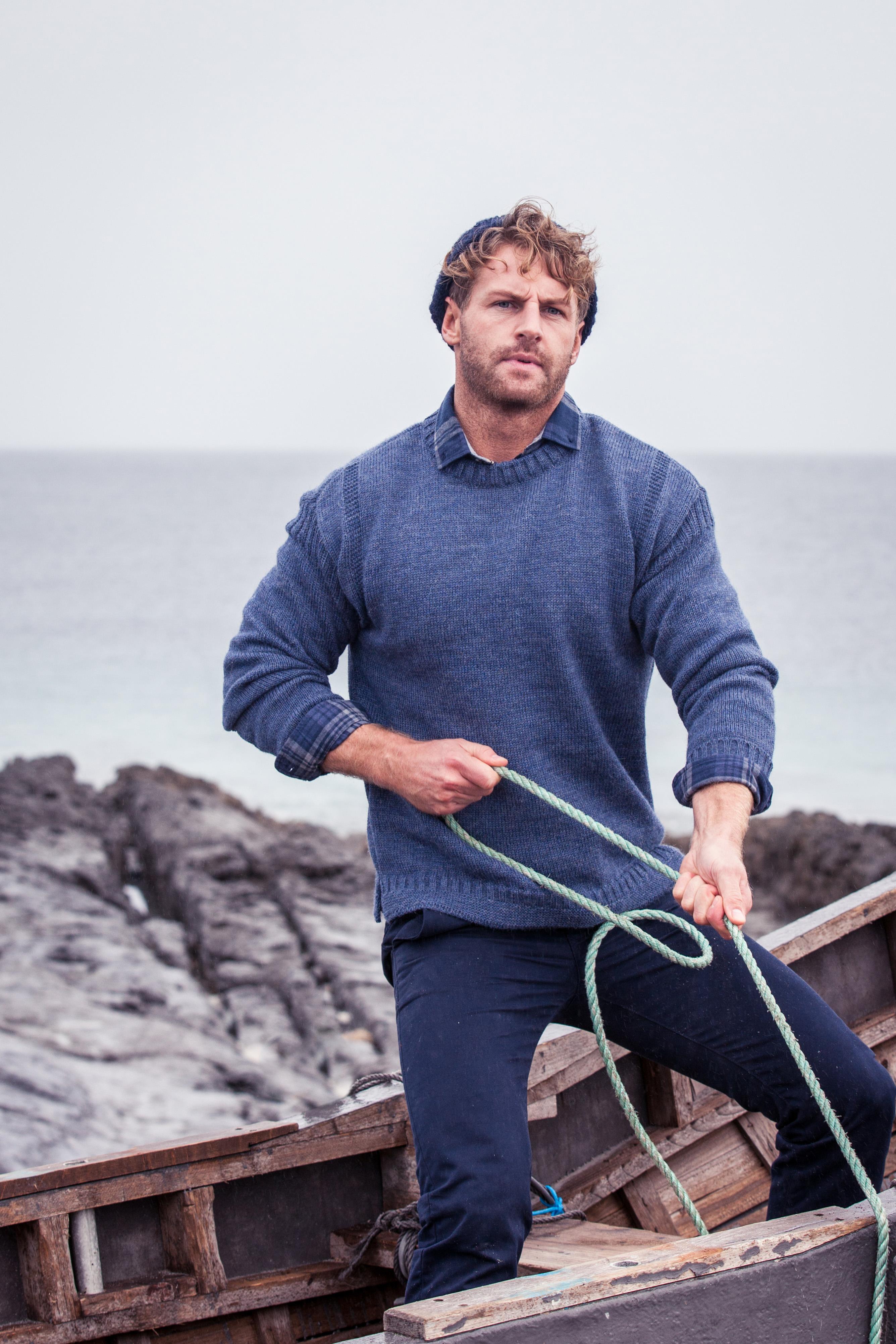 Irish Aran Fisherman Sweaters - steeped in our island history