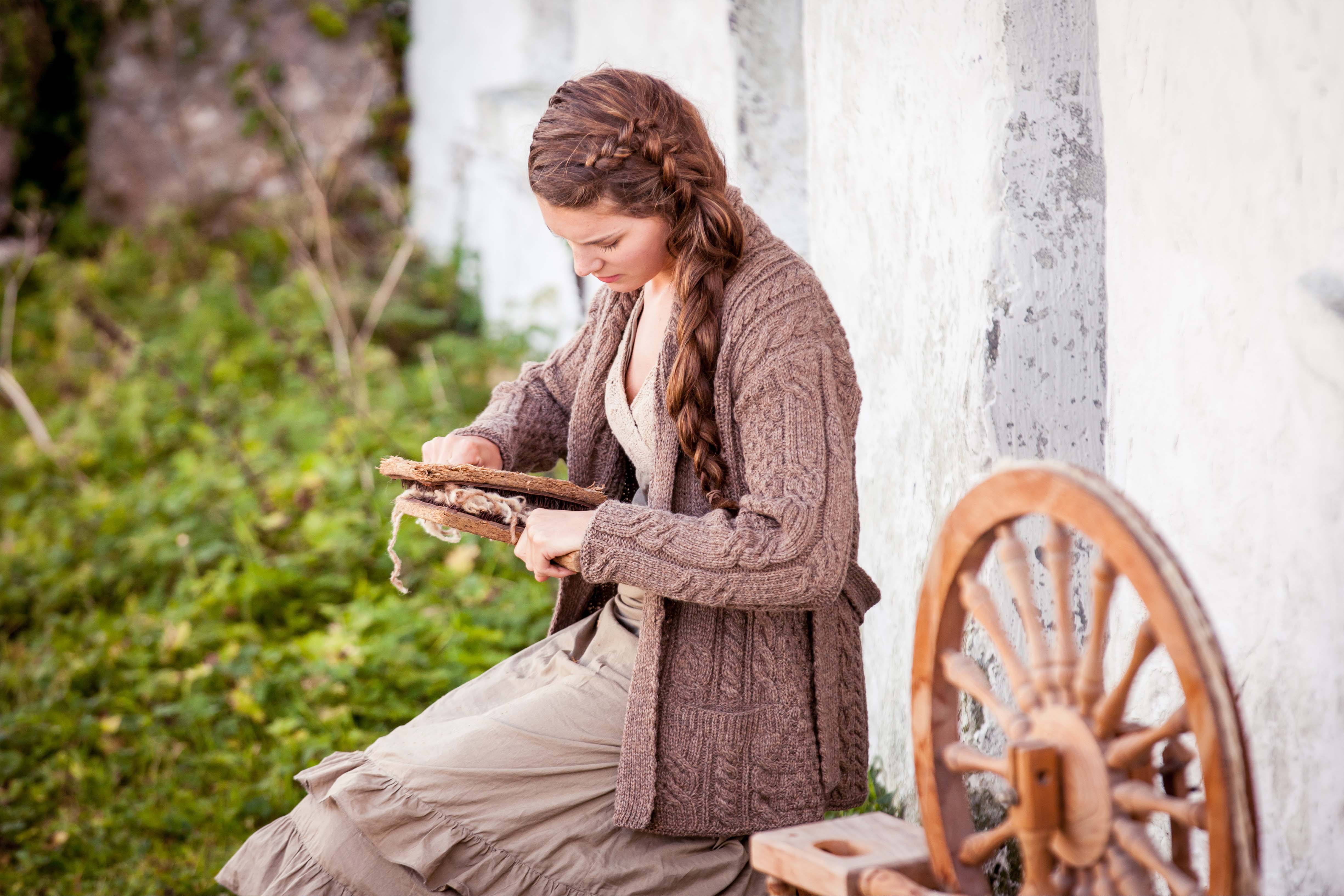 Aran Knitwear, Ireland - styled through the ages