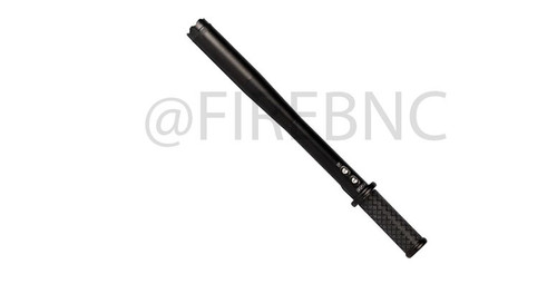 """The Safety Technology Stun Bat has 80 million volts and is built with strong aircraft grade aluminum. At just over 16"""" with a rubber grip, the Stun Bat is a solid striking weapon. The intimidating stun power arcs brightly and loudly enough to dissuade most confrontations before they begin! Featuring a super bright 220 lumen flashlight, opponents are easily blinded and disoriented. The flashlight has 5 modes 100% brightness, 70% brightness, 30% brightness, Strobe, and SOS.  Specifications: • 4.9 milliamps depending on the charge on the batteries • 80 Million volts • Built-in LED 220 Lumen Flashlight • Measures 16 7/8"""" x 1 3/4""""  Features: • Rubber Handle • Built-in Rechargeable Ni-Cd Battery • LIFETIME WARRANTY • Strong Air Craft Aluminum Construction"""