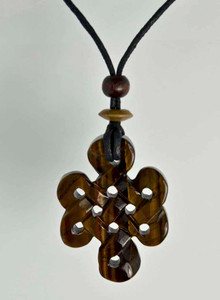 Celtic Knots Pendant Stone Jewelry - Tigers Eye
