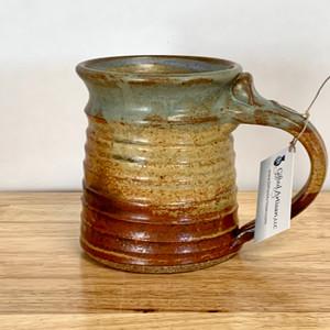 Handmade Pottery Mug - Oasis Glaze 12 oz