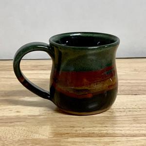 Handmade Pottery Large Desert Twilight Mug 12 - 14 oz