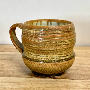Handmade Crystalline Mug. One of a kind!
