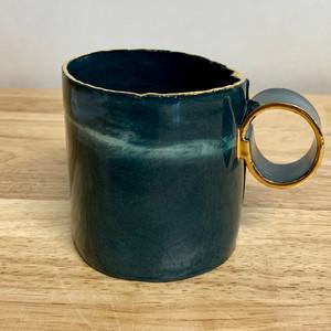 Handmade Ceramic Mug Emerald