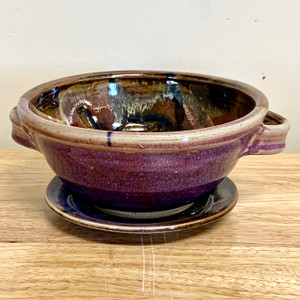 "Berry Bowl 7"" diameter x 3.5"" deep Lavender"