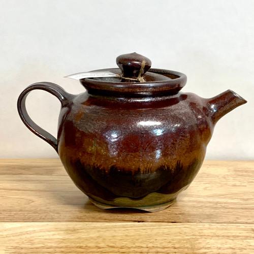 Handmade Pottery Teapot Round 32 oz
