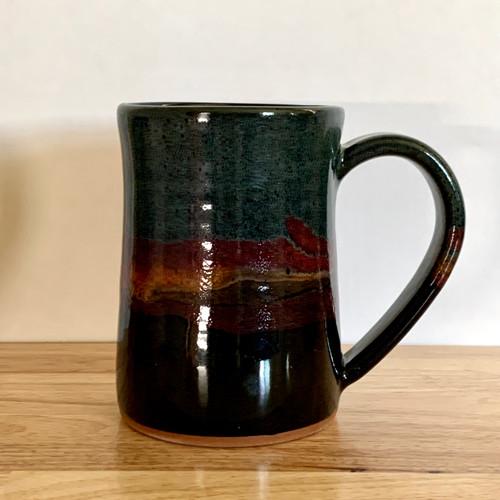 Handmade Pottery Desert Twilight Tankard Mug 20 oz