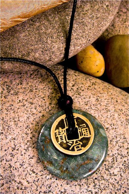 Earth Stone Pendant Stone Jewelry - Mind Body Spirit