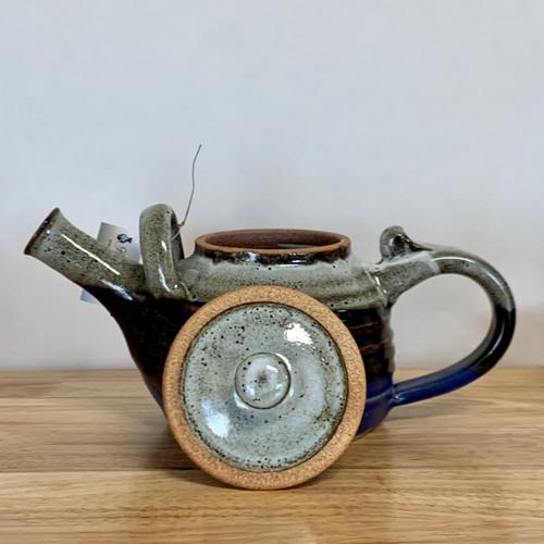 Handmade Pottery Teapot in Storm Glaze - 32 Oz.