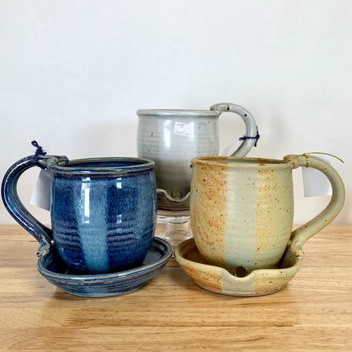 Handmade Pottery Bacon Cooker Mug