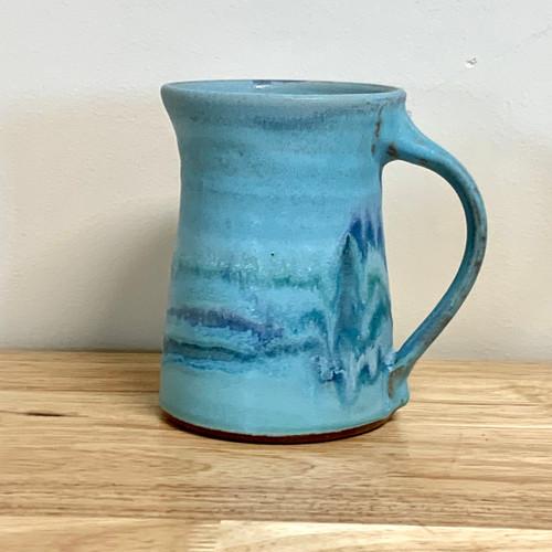 Handmade Pottery Mug - Southwest Turquoise 12 oz