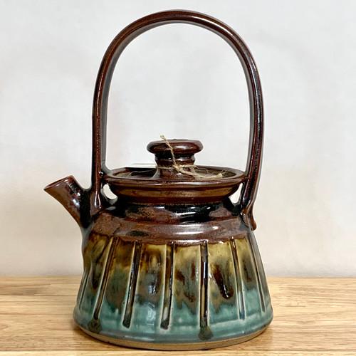 Handmade Pottery Teapot  26oz