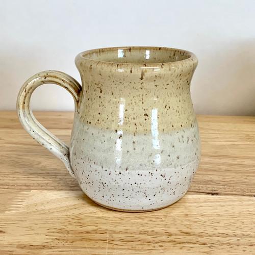 Handmade Pottery Mug Farmhouse Style Honey and Vanilla