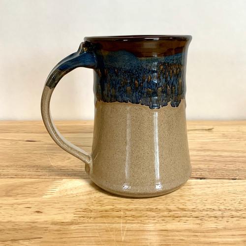 Desert Sand Mug 15 oz. Blue/Cream Glaze