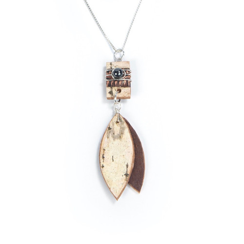 Tessoro Classic Collection Natural Birch Necklace