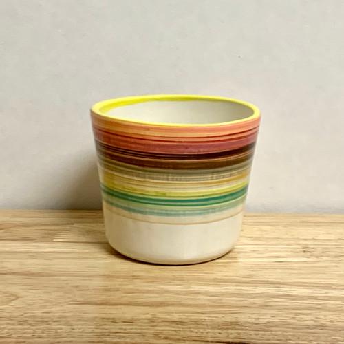 Handmade Ceramic Tumbler in Baja Colors