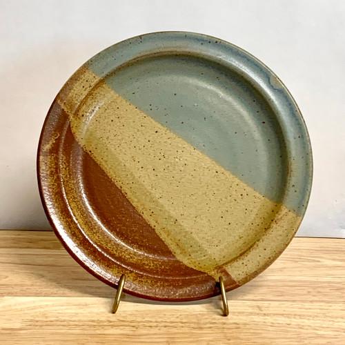Handmade Pottery Dinner Plate in Oasis Glaze