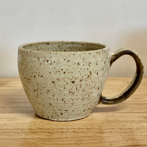 Handmade Pottery Cappuccino Cup in Sand