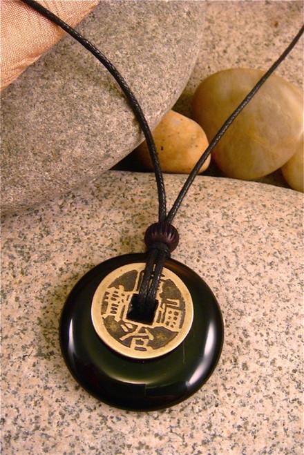 Earth Stone Pendant Stone Jewelry - Protection