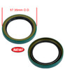 9112 H.D. Pulley Sand Seal, Green - EMPI VW dune buggy vw baja bug Heavy Duty