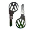 "(2) Key Blanks, Profile ""SV"", Classic Air-Cooled VW Bug 1961 - 1966"