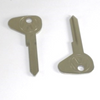 "(2) Key Blanks, Profile ""E"", Classic Air-Cooled VW Bus 1950 - 1963"