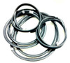 Window Rubber Seal Kit, Fits VW Bug 1958-1964, American Chrome Style